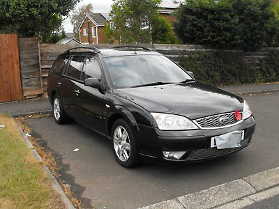 Ford Mondeo Estate   Ghia Tdci  With Mobility Hoist And Tow Bar