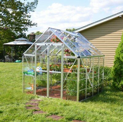 Palram Snap & Grow 8 Ft. W x 8 Ft. D Greenhouse