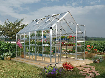 Palram Snap & Grow 8 Ft. W x 12 Ft. D Greenhouse