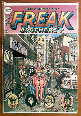The Fabulous Furry Freak Brothers #4 F+ 6.5