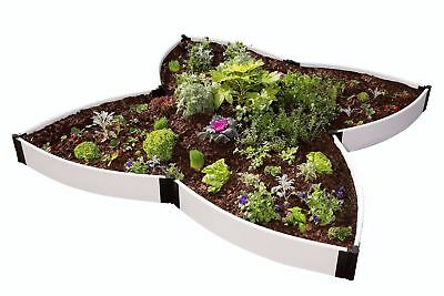 Frame It All Butterfly Pollinator 10 ft x 10 ft Composite Raised Garden
