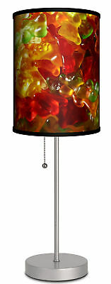 "Ebern Designs Overstreet Gummy Bears 19"" Table Lamp"