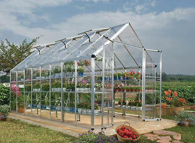Palram Snap & Grow 8 Ft. W x 16 Ft. D Greenhouse
