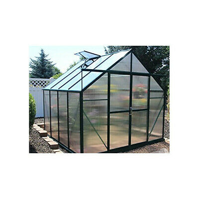 Grandio Greenhouses Ascent Heavy-Duty Aluminum 8 Ft. W x 8 Ft. D Greenhouse