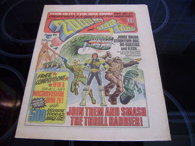 2000Ad Prog 86 1978 -First Issue 2000Ad And Starlord Combined