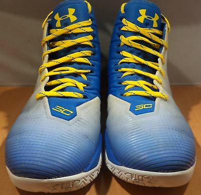 886b3e7a9c9f Under Armour Basketball Shoes Steph Curry 2.5 Blue   Yellow Size 10 1274425- 103