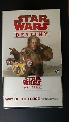 Star Wars Destiny Way of the Force Sealed Booster Box (36 Packs) Free S/H