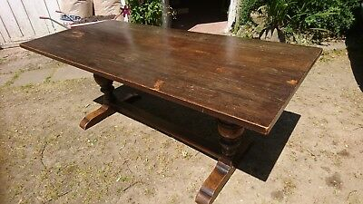 PRICE REDUCTION, Beautiful old antique Oak refectory Table