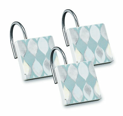 Popular Bath Shell Rummel Sea Glass Shower Curtain Hooks Set Of 3