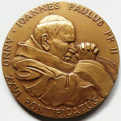 Vatican Official Annual Medal 2004 Pope John Paul Ii - Christian Roots