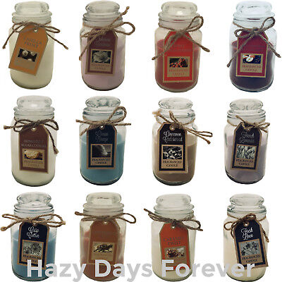 SCENTED JAR CANDLES Buy 2 Get 1 FREE Various fragrances Great Gift