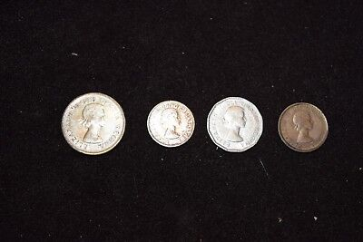 1958 Canadian Coin Set Dads Coins