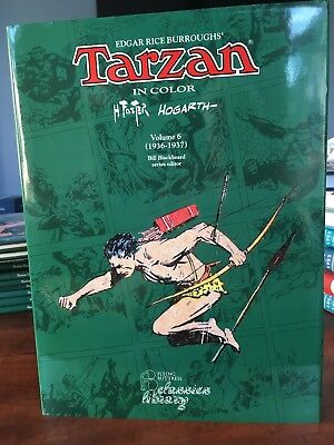 Tarzan – Volume 6. 1936-1937. Foster And Hogarth. In Color. Flying Buttress