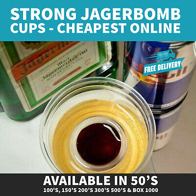Strong Disposable Plastic Jager Bomb Shot Glass 25ml CE Marked (NONBBP)