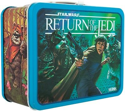 Star Wars Return of the Jedi Metal Lunchbox with Thermos