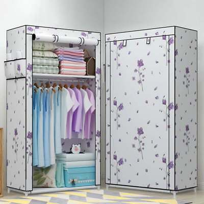 Large Wardrobe Storage Portable Bedroom Double Stable Easy Assemble
