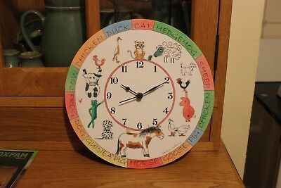 childrens wall clock