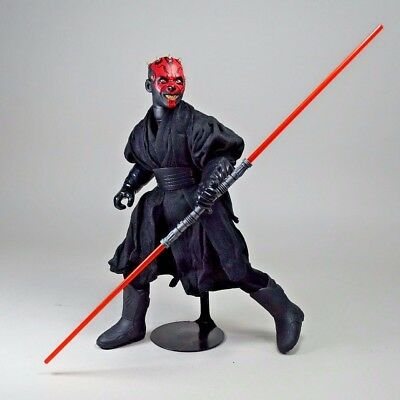 "DARTH MAUL 12"" Sith BAD ASS Action Figure, Star Wars Episode 1 - Sixth Scale NEW"