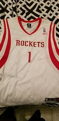 f6c4c9991 Tracy McGrady Houston Rockets SZ 2XL +2 Reebok Authentic Team NBA Jersey