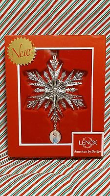 "Lexox Disney Frozen ""elsa's Snowflake"" Ornament -- New In Box"