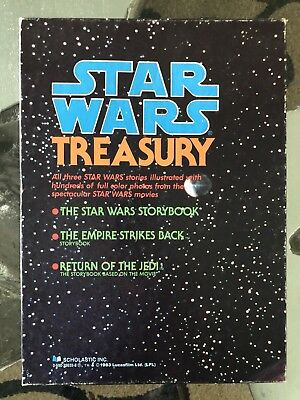Vintage 1983 Star Wars Treasury 3 Photo-Story Books Good condition