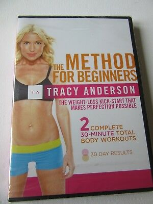 the method for beginners tracy anderson 2x 30 min total body brilliant item
