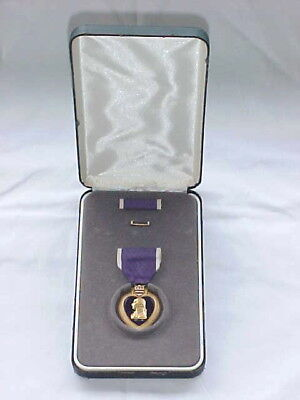 United States WW2 Purple Heart Medal w/Box ***Awarded & Engraved***