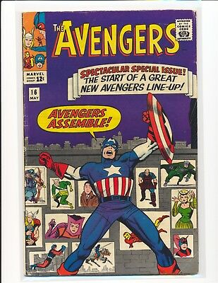 Avengers # 16 - New team line-up VG Cond.