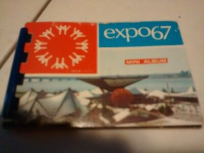 Expo 67 Mini album Montreal Canada photo book