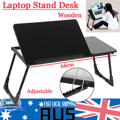Upgrade Portable Foldable Laptop Stand Adjustable Desk Computer Table Bed Tray