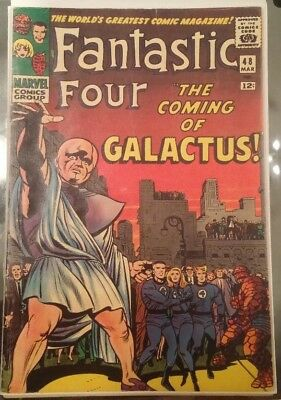 Fantastic Four 48 Reproduction Cover