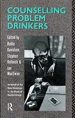Counselling Problem Drinkers Paperback Book The Cheap Fast Free Post