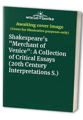Shakespeare's Merchant of Venice: A Collection of Critical Essays (... Paperback
