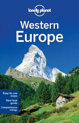 Lonely Planet Western Europe (Travel Guide) by Wilson, Neil Book The Cheap Fast