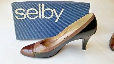 8c7d6f4a46c46 NOS NIB CUTE Vintage 60's Selby Gray Suede Loafer Style Low Heels ...