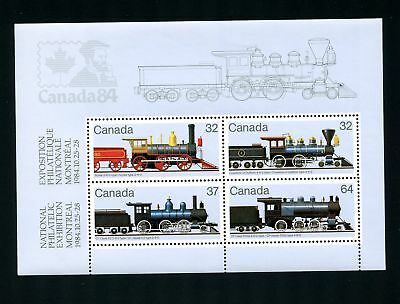 LOT 69686a  MINT NH 1039a  COMPLETE SHEET TRAINS CP GT CLASS SCOTIA 0-6-0- TYPE