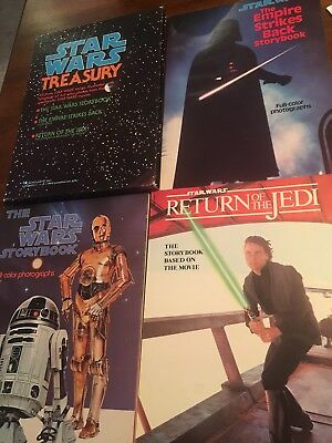 Star Wars Treasury Scholastic Set of 3 Paper Back Books Slipcover Original 1983
