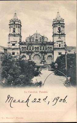 The Cathedral,Panama Postcard