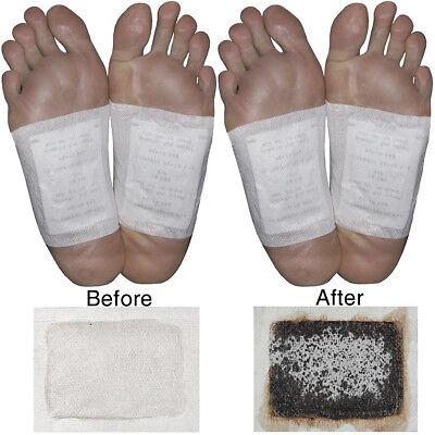 NEW Himalayan Salt Foot Detox 100% All-Natural Toxin Cleanser Kit (20 Patches)