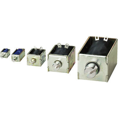 EBE Group 3100204 TDS-16A, 4/39 N Pull Type Solenoid 12VDC 9.5W M3