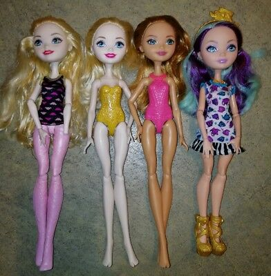 Ever After High  Doll Lot of 4 dolls