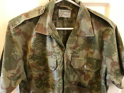 South African Police Service Camo Shirt