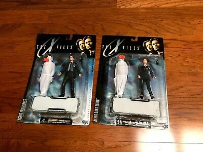 """The X Files Agent Mulder + Scully Series I Figure With Body """"free Ship"""""""