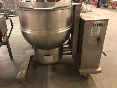 Groen Gas 40 Gallon Jacketed Steam Kettle Mdl: Dh/1P-40