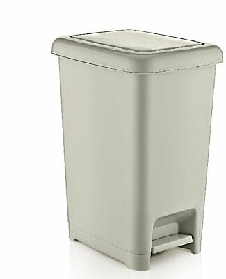 Superior Performance 10.5 Gallon Step on Trash Can