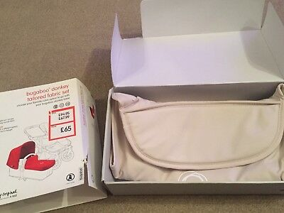 BRAND NEW & BOXED Bugaboo Donkey Off White Carrycot Apron