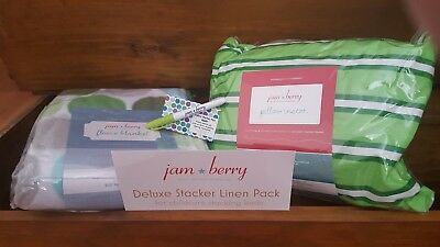 Jam Berry Deluxe Kids Daycare Blanket & Pillow Set