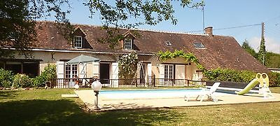 Maison  Longere 7 Pieces Entre Paris Et Le Mans, Piscine, 6Ha