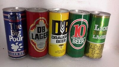 Tall 450ml / 460ml Steel Beer Cans from New Zealand
