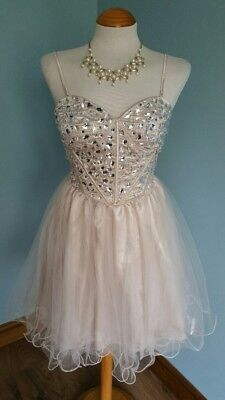 433c1bc61 BEAUTIFUL NAVY BLUE & Silver Junior Prom Dress Year 6 Prom Age 10 ...